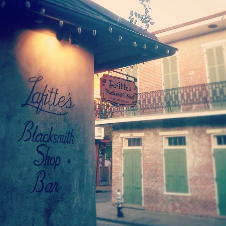 Lafitte's Blacksmith Shop, the haunted bar in New Orleans that's been around since the 1700s.
