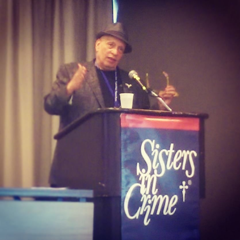 Walter Mosley was the keynote speaker at Sisters in Crime's SinC Into Great Writing workshop. He is absolutely amazing.