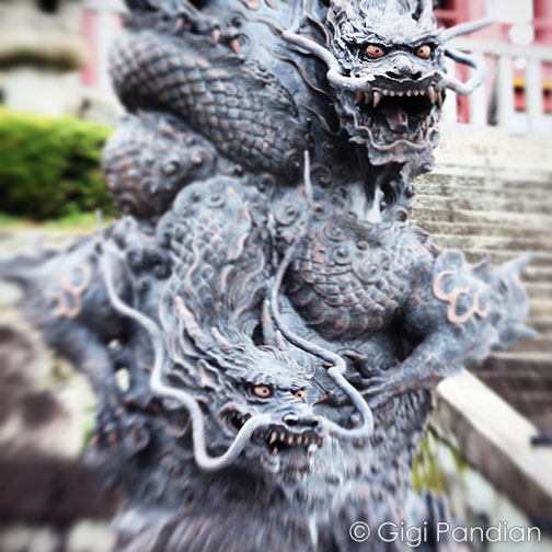 Dragons at Kiyomizu-dera Temple