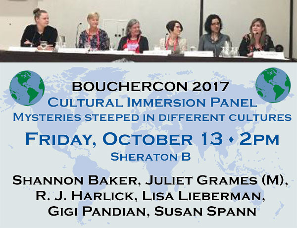 My panel — what a fun group!