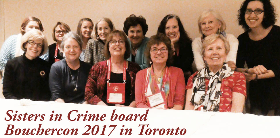 My last Sisters in Crime board meeting! It was an honor to serve as Publicity Liaison for the past two years for an organization that has been a big part of my publishing journey.