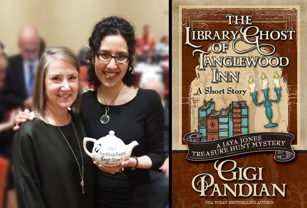 Kendel Lynn from Henery Press has been part of my publishing journey from the beginning, so it was wonderful to have her there to celebrate.