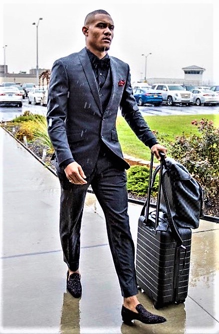 Kenny Golladay Traveling