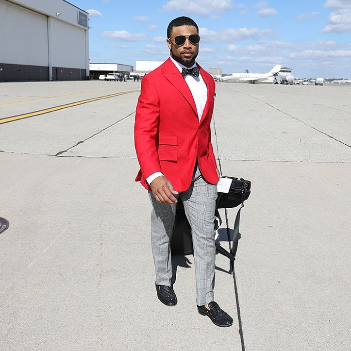 Golden Tate Traveling