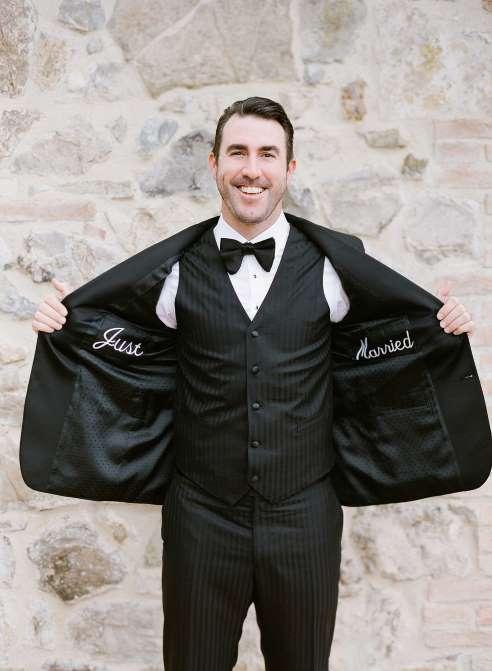 Verlander's Wedding Day Tux