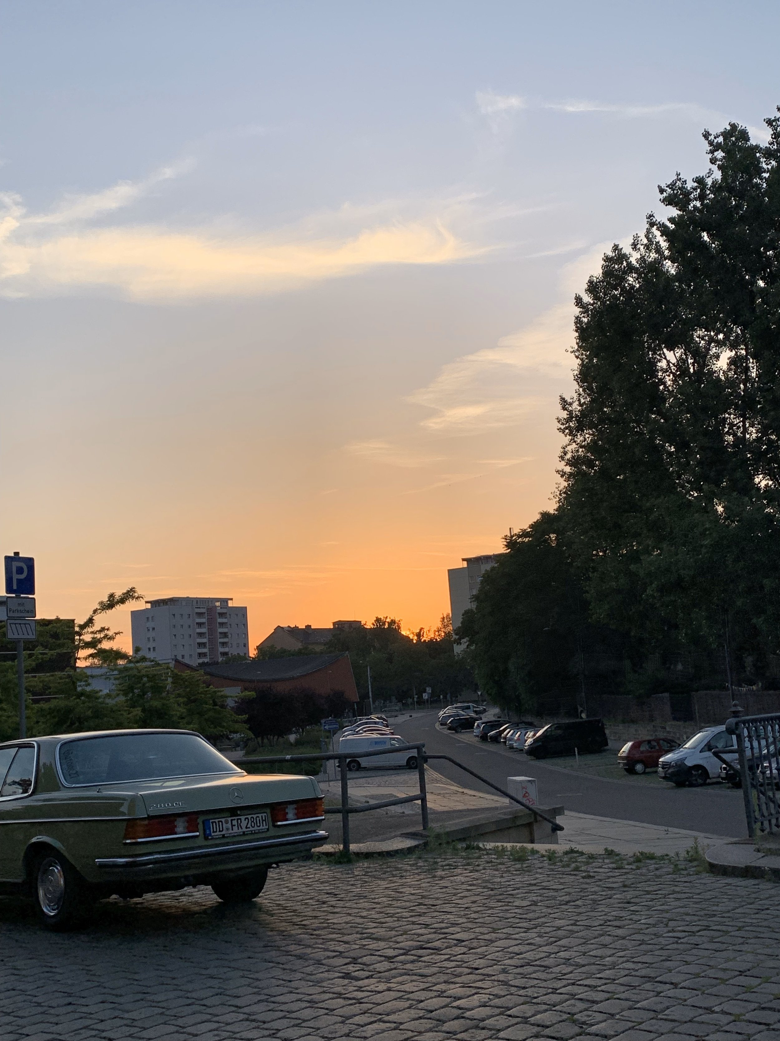 with a lot of summer evening sunsets