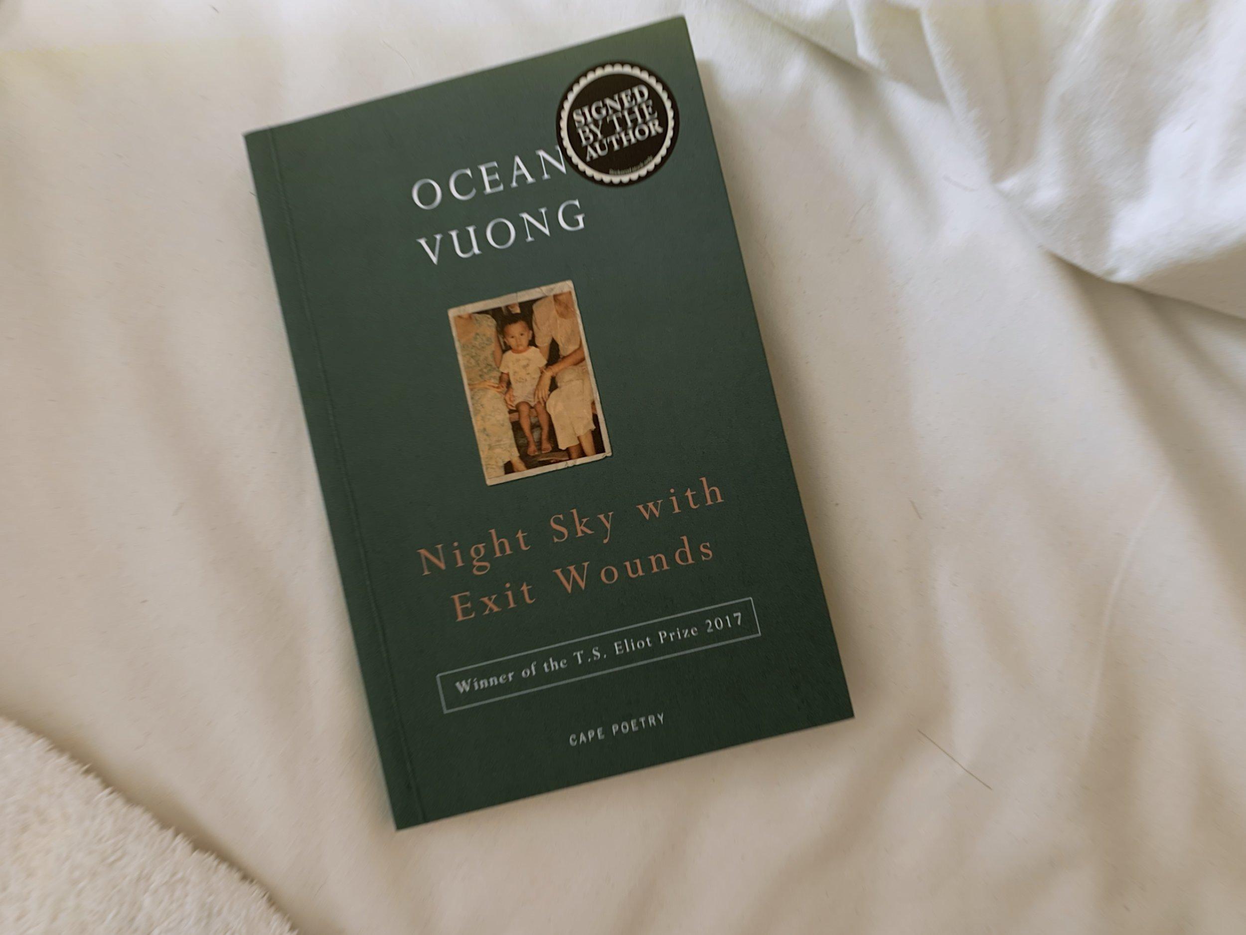 bought ocean vuong's books! fell in love! so inspired.