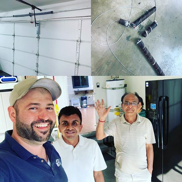 Another satisfied client.  Our client had two broken springs in their two door garage. We showed up in a timely fashion, repaired the problem and we ended up with two very happy customers. Just as we like it.  For great customer satisfaction and quality service call Pro Garage Door and Gate for your free estimate today.  818.7223181  #7147493262 #garagedoorsprings #garagedoor #garagedoorrepair #garagedooropener #garagedoorservice #losangeles #homeremodel #valleyvillage #gateservicing #brokingsprings