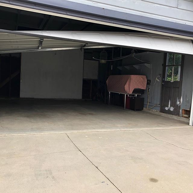 Your garage door  is OFF TRACK ?!?! Give us a call  7147493262