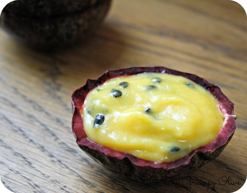 Finger-licking Passion Fruit Curd