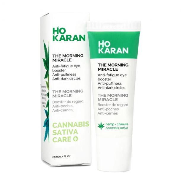 ho karan eye booster skincare routine