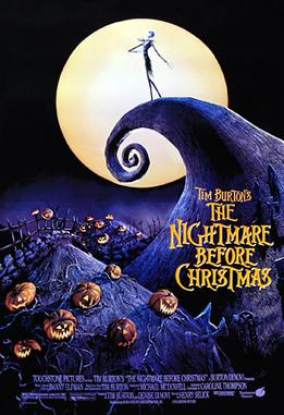 Halloween Movie - THE NIGHTMARE BEFORE CHRISTMAS