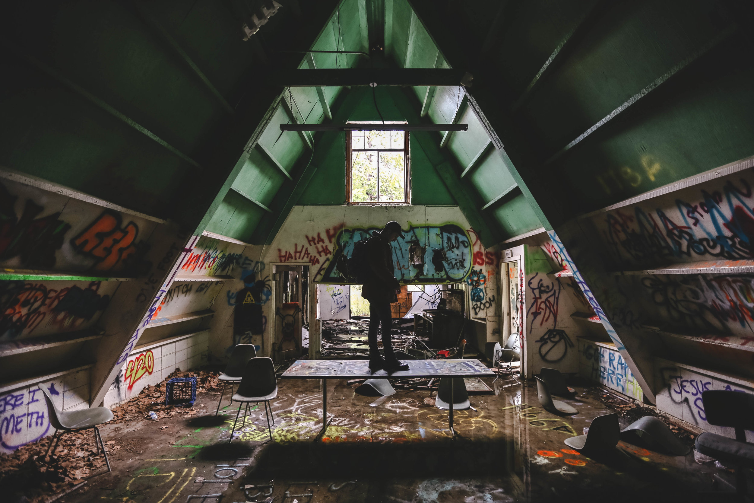 Abandoned Boy Scout Camp – California