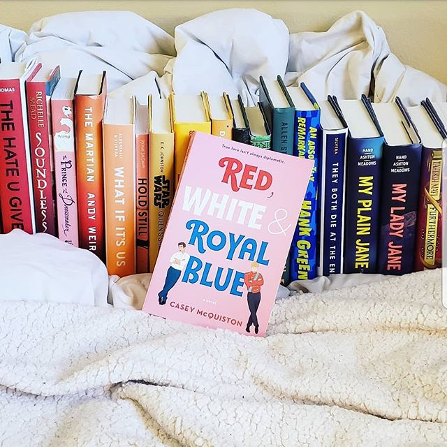 Have you all listened to our Pride month episode on Red, White & Royal Blue yet? You can catch it on your favorite podcatcher or at unassignedreadingpod.com . . . . . . . . #bookstagram #bookgram #booklife #bookworm #booknerd #booknerdigans #bookish #booklover #instabooks #bookaholic #igbooks #lgbtqbooks #lgbtbooks #lgbtqreads #redwhiteandroyalblue #ladypodsquad #bookpodcast #lithappens #podcasters