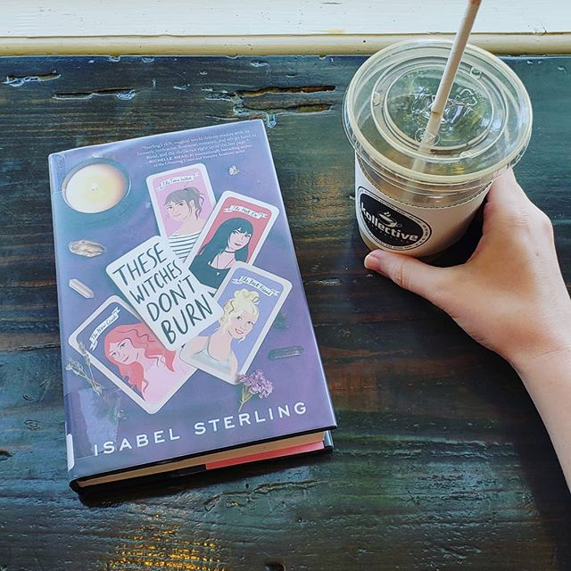 Getting in a little reading during a hectic day. What are you all reading this week? . (Also I just finished The Deep by Rivers Solomon and oh my gosh y'all they did it again-- so good.) . . . . . . . #bookstagram #bookgram #booklife #bookworm #booknerd #booknerdigans #bookish #booklover #instabooks #bookaholic #igbooks #bookflatlay #igreads #thesewitchesdontburn #bookandcoffe