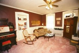 The Parlor of the House during the 1980's