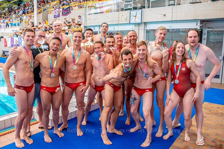 Gay Games 2018 (Paris) - Recreational Division - Silver