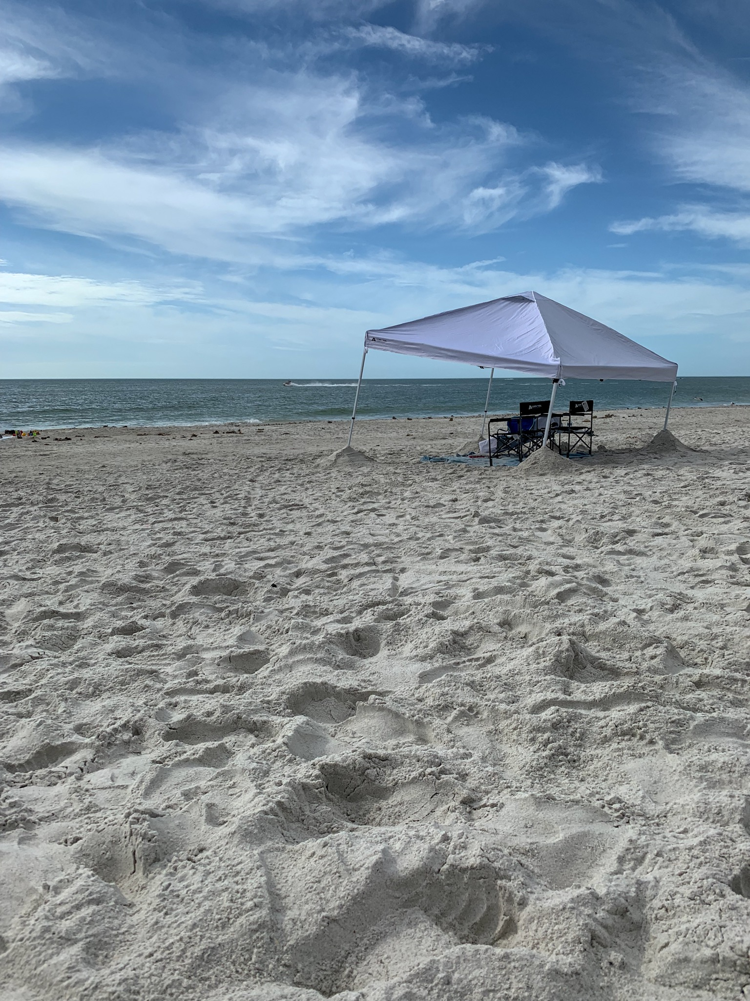 Lonely Tent on Madeira Beach