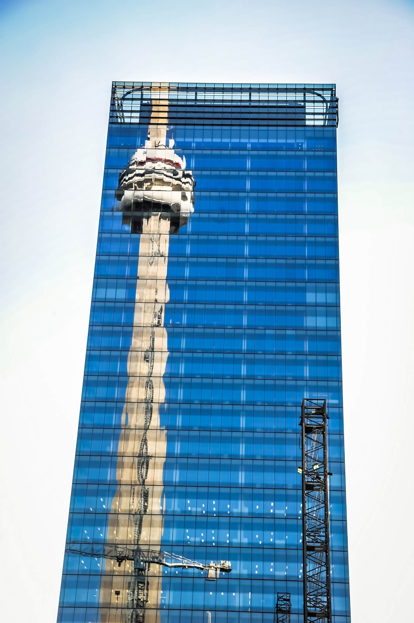 Reflections of the CN Tower