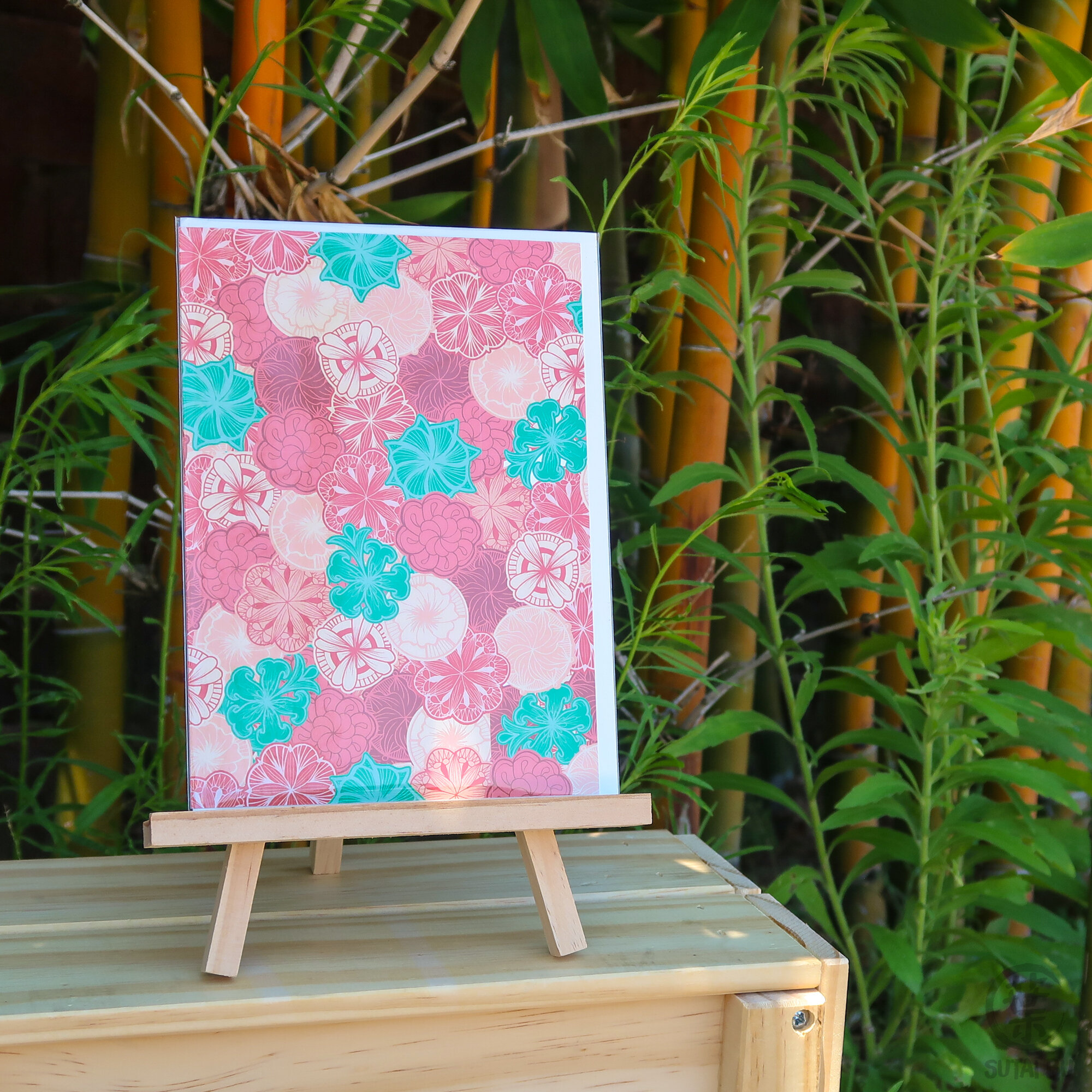 Limited Edition Greeting Card | Oriental