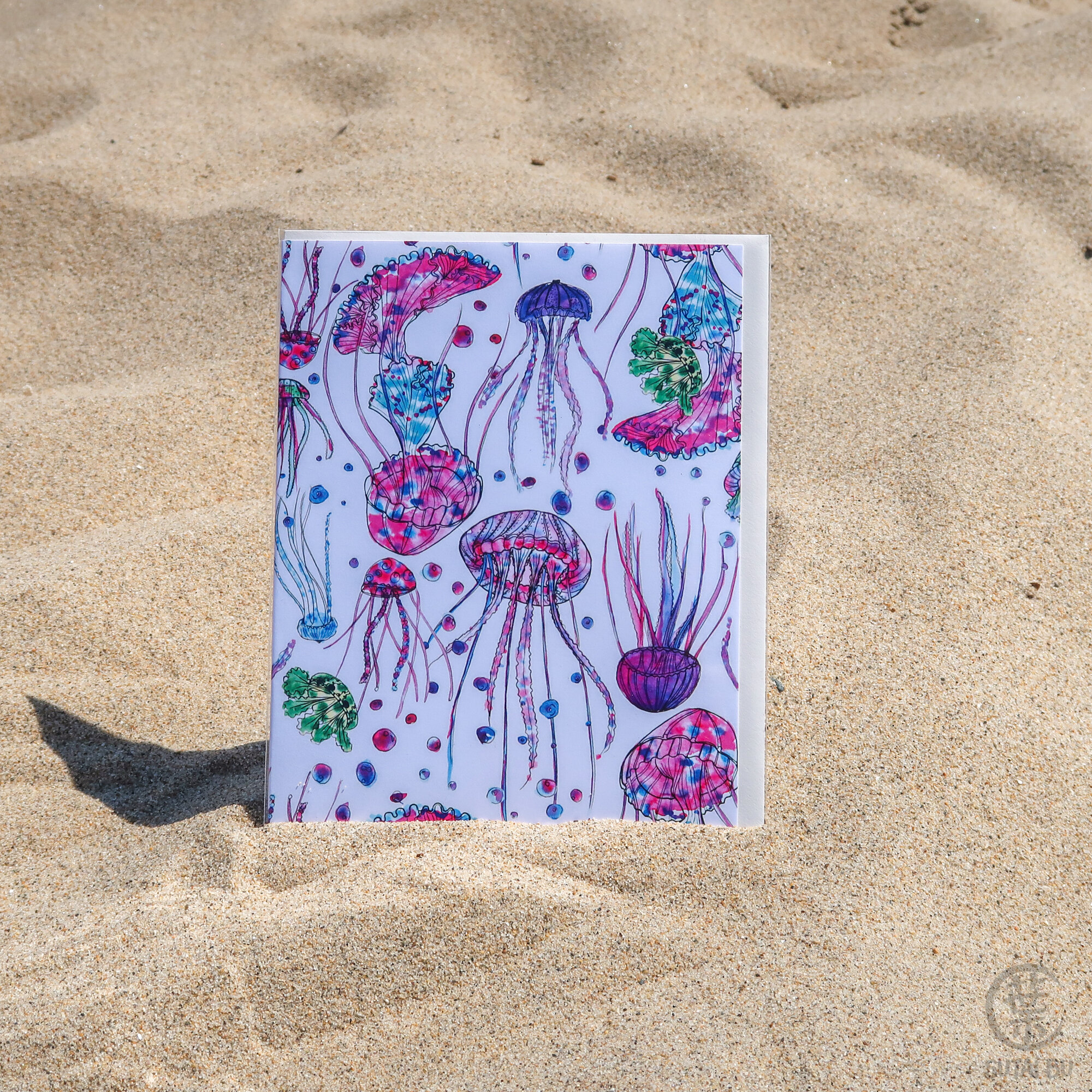 Limited Edition Greeting Card | Jellyfish