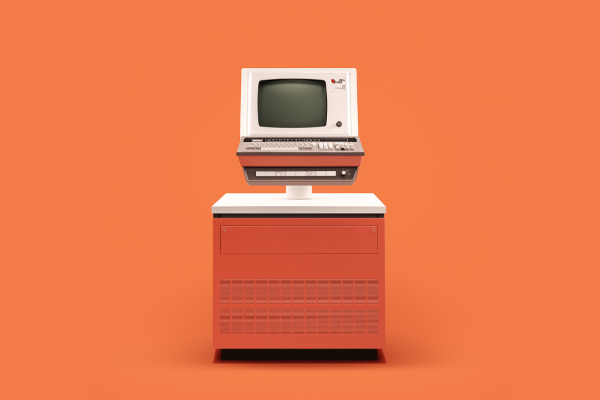 1971 - ICL 7500. Pic by  @docubyte