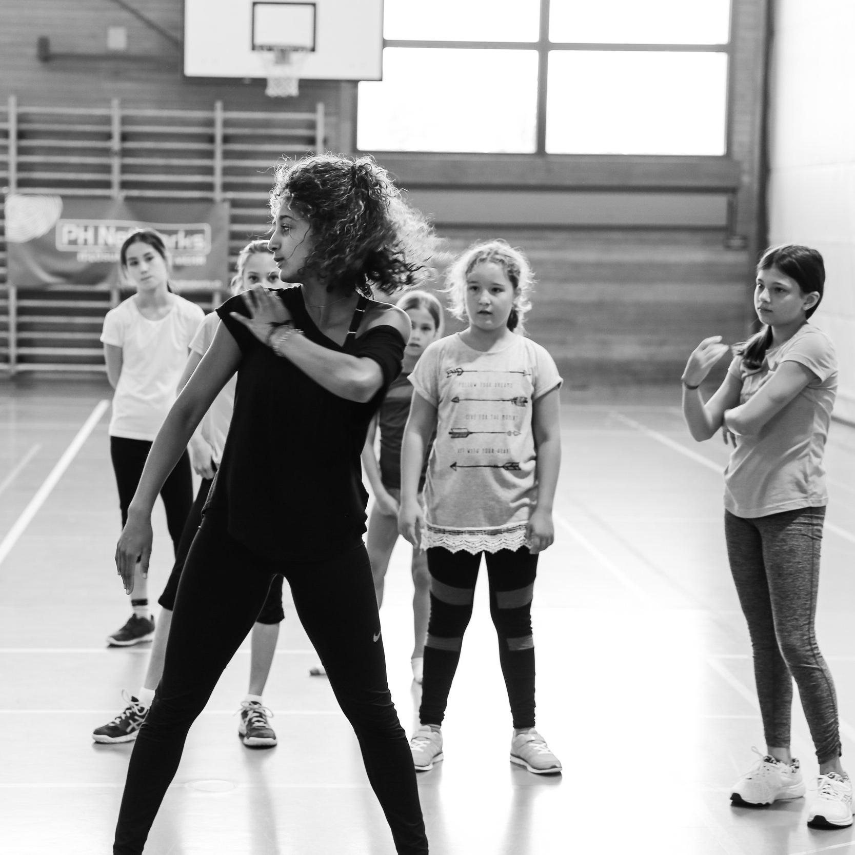 Melanie Glover Tanzlehrerin