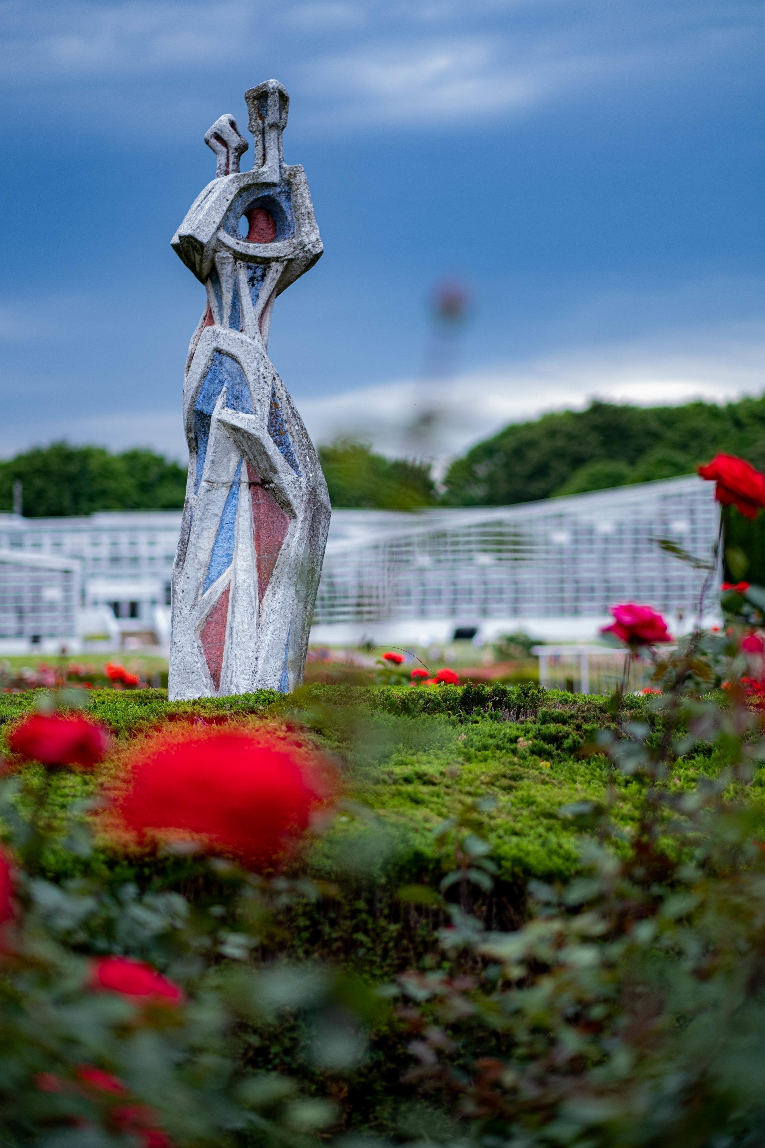 Rose Garden, Jindai Botanical Park, Tokyo