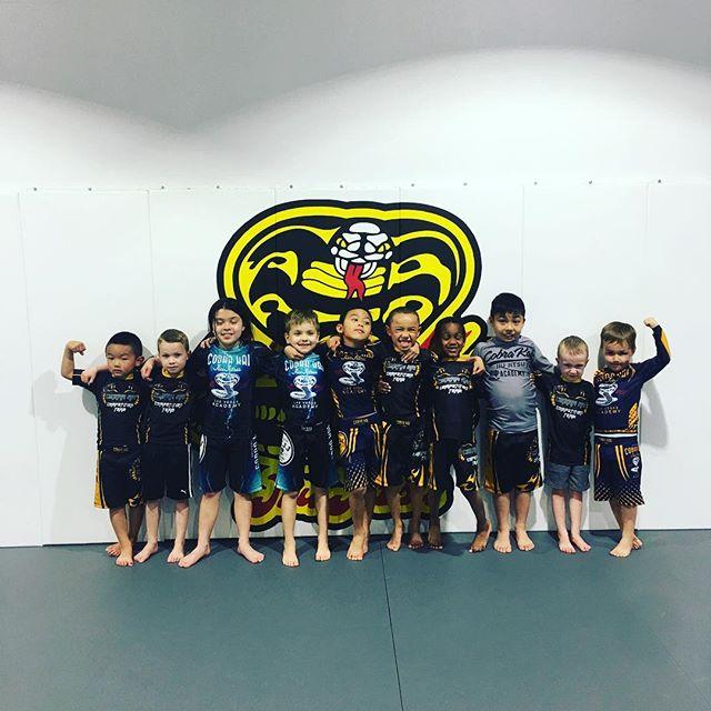 Cobra Kai Little Ninjas(ages 4-8) with coach TG. #ckjj #bjj #jiujitsu