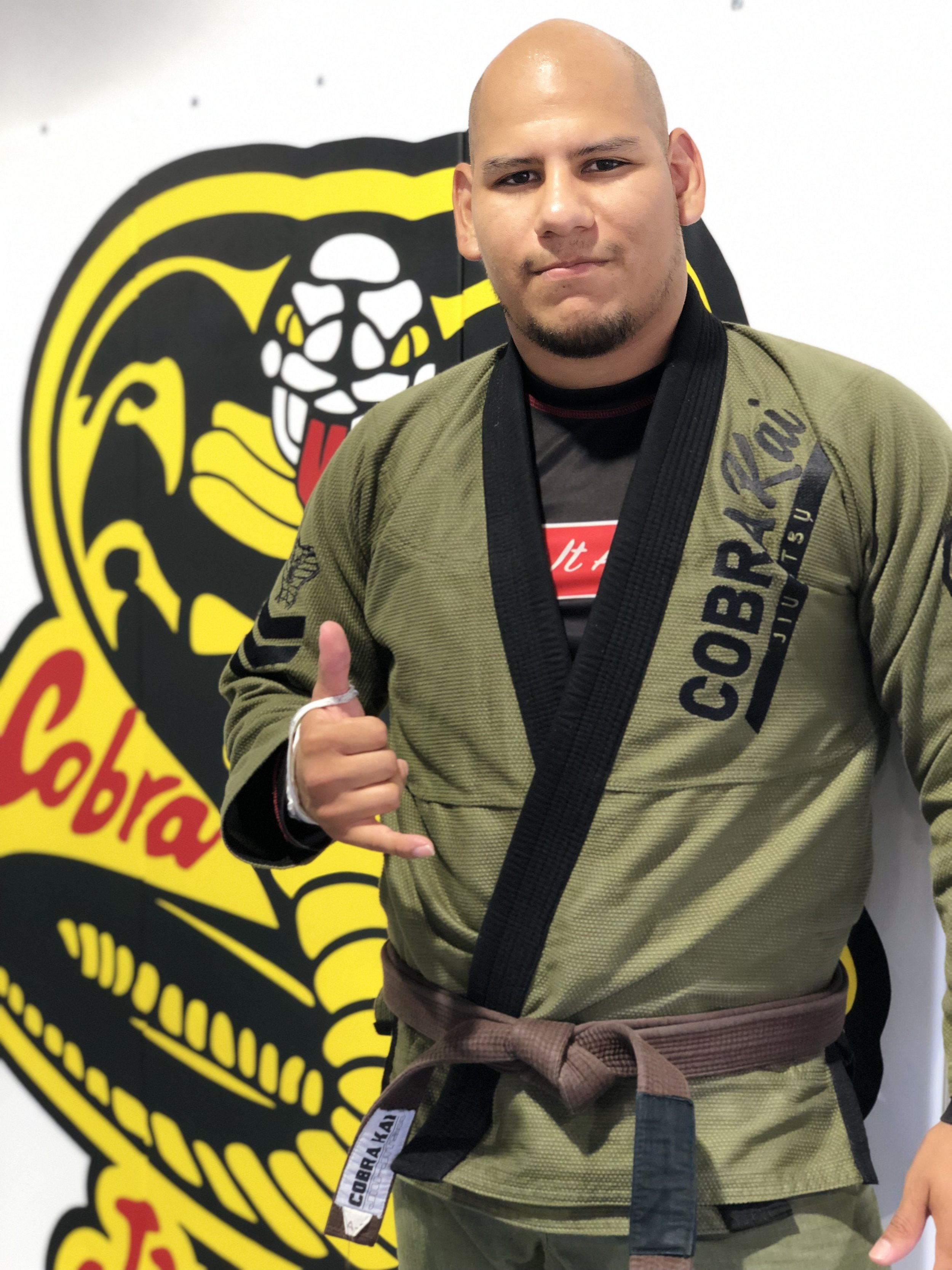 Kevin Mendoza   Brown Bel t Five Grappling Gi & No Gi Champion Army Combative Certified 4th Place Nevada State Wrestling Tournament