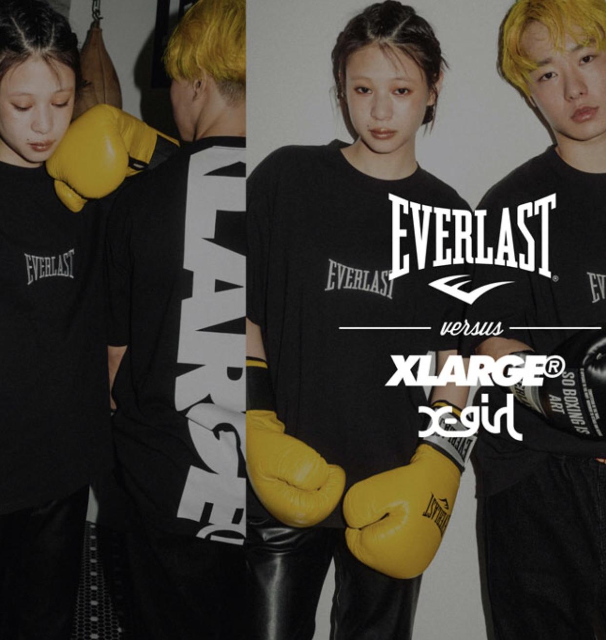 XLARGE® × X-girl × EVERLAST
