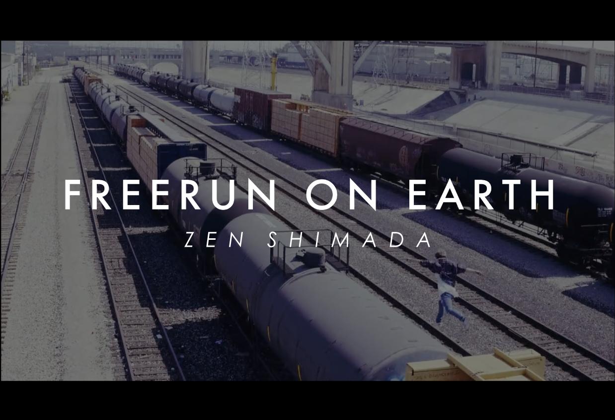 FREERUN ON EARTH