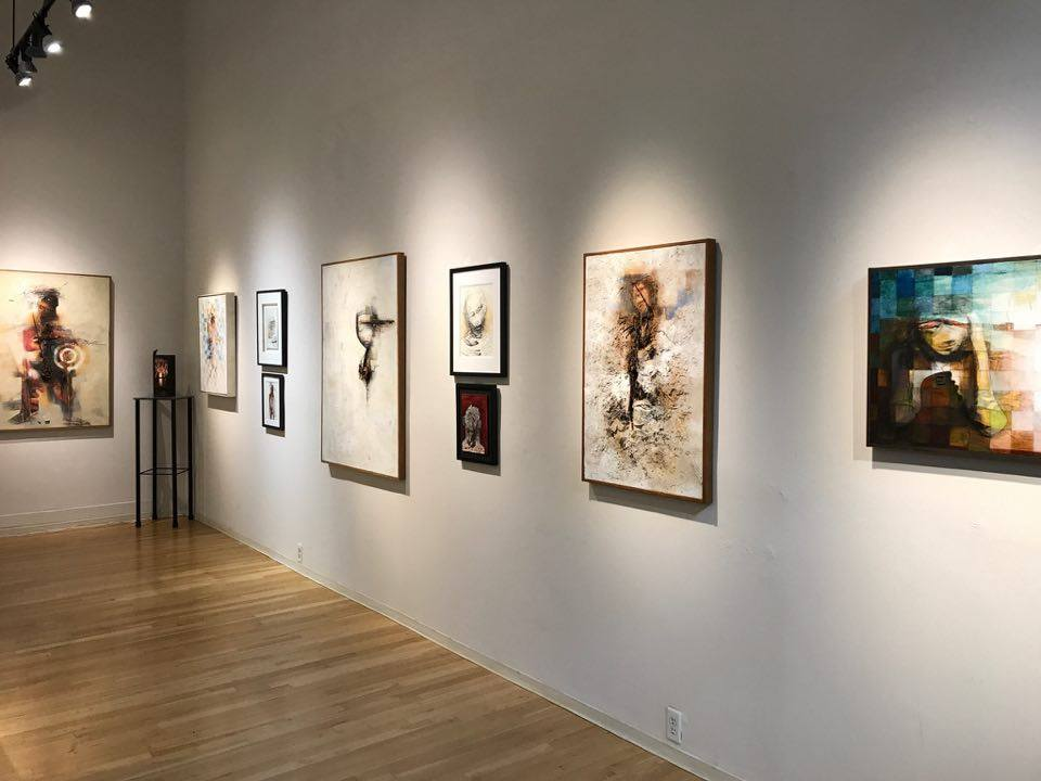 Works on view at Frederick Holmes & Co. in Seattle