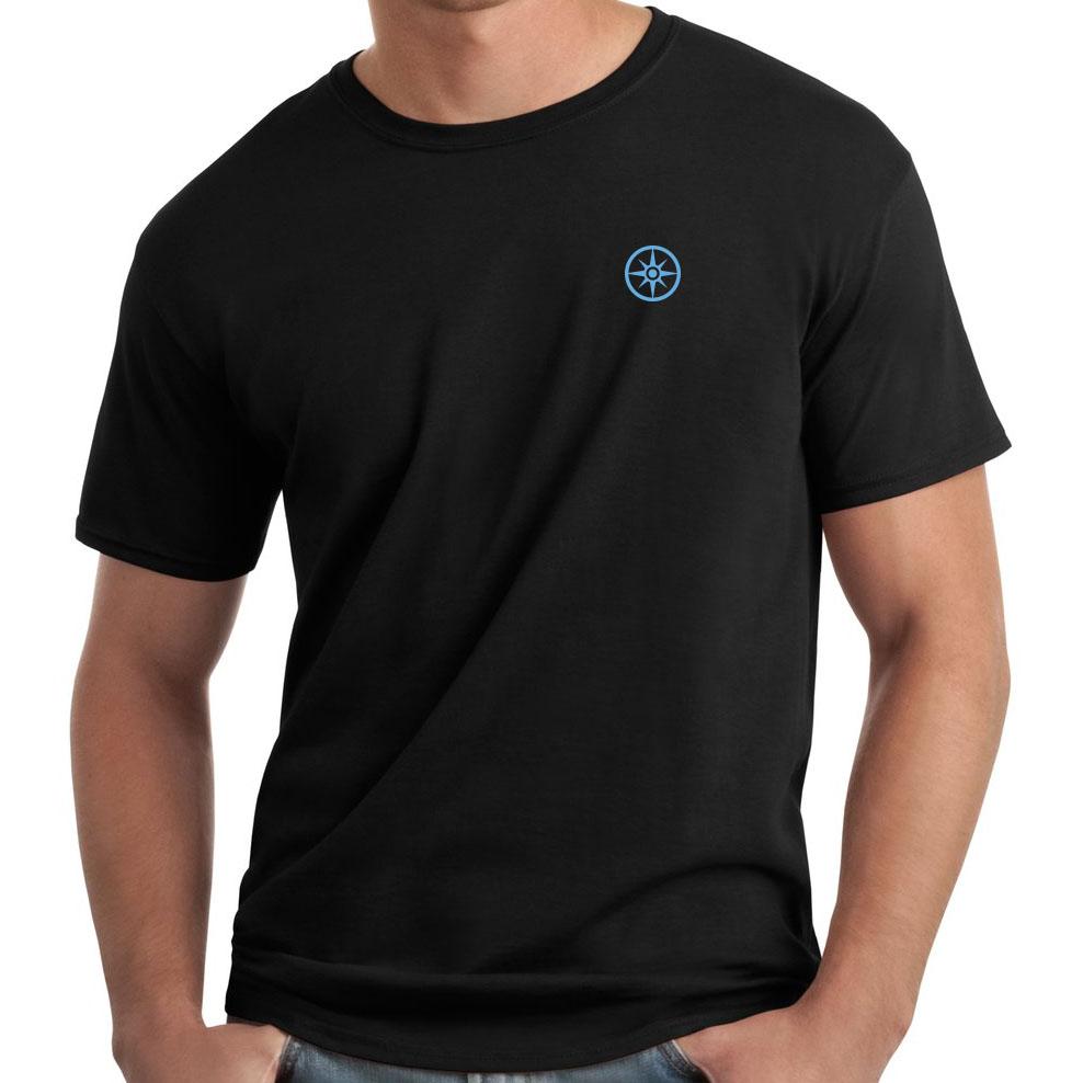 Compass Logo Embroidered Shirt