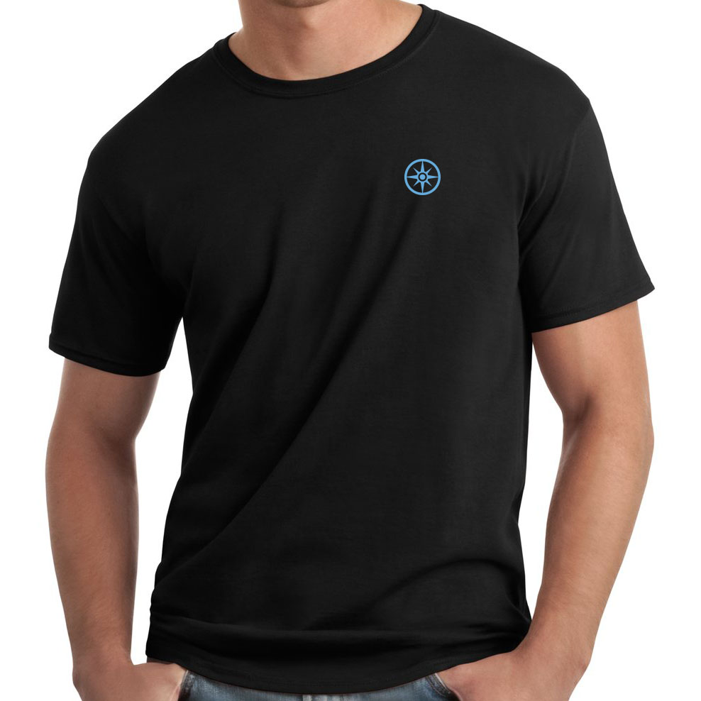 Compass Logo Embroidered T-Shirt
