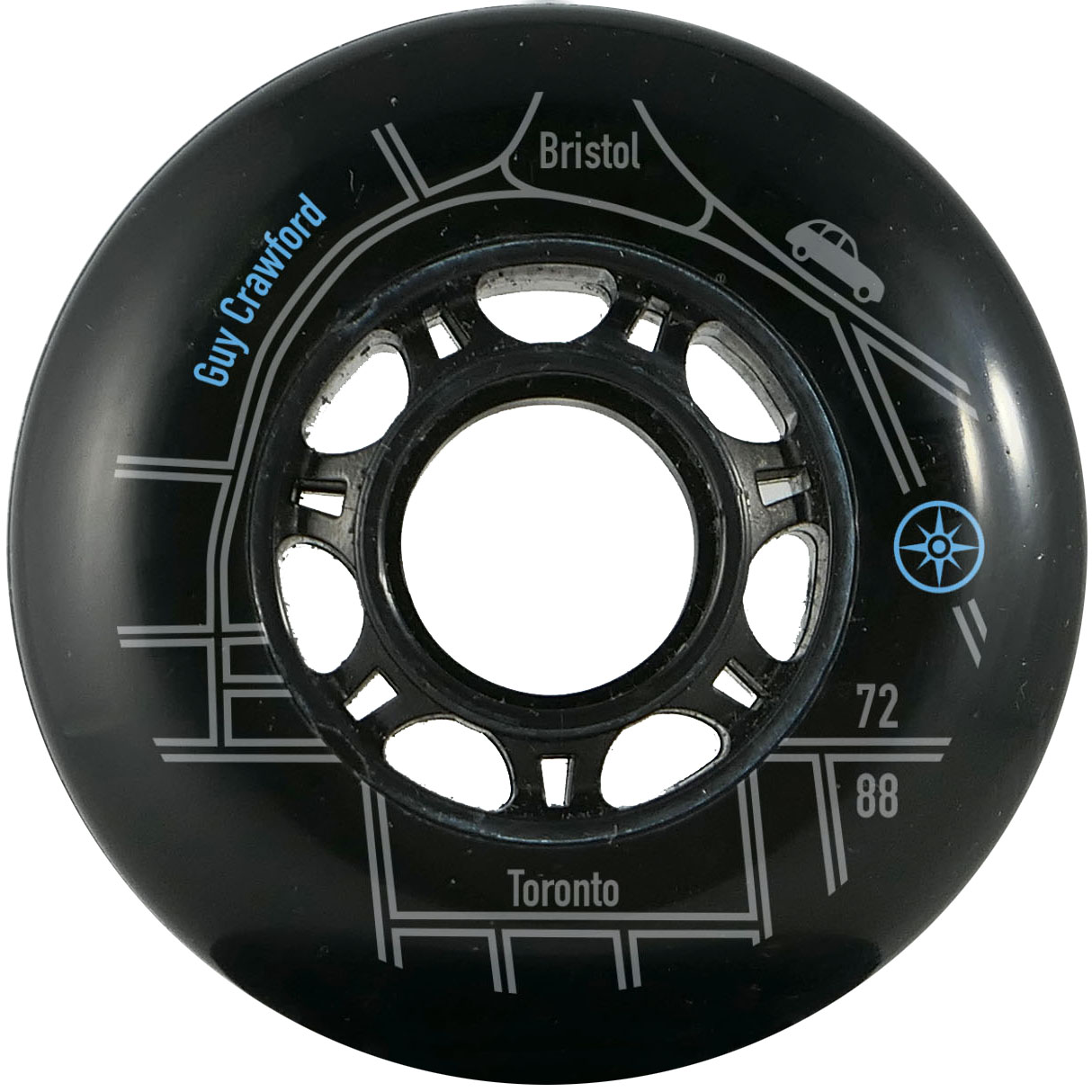 Compass 72mm 88a Guy Crawford Wheels