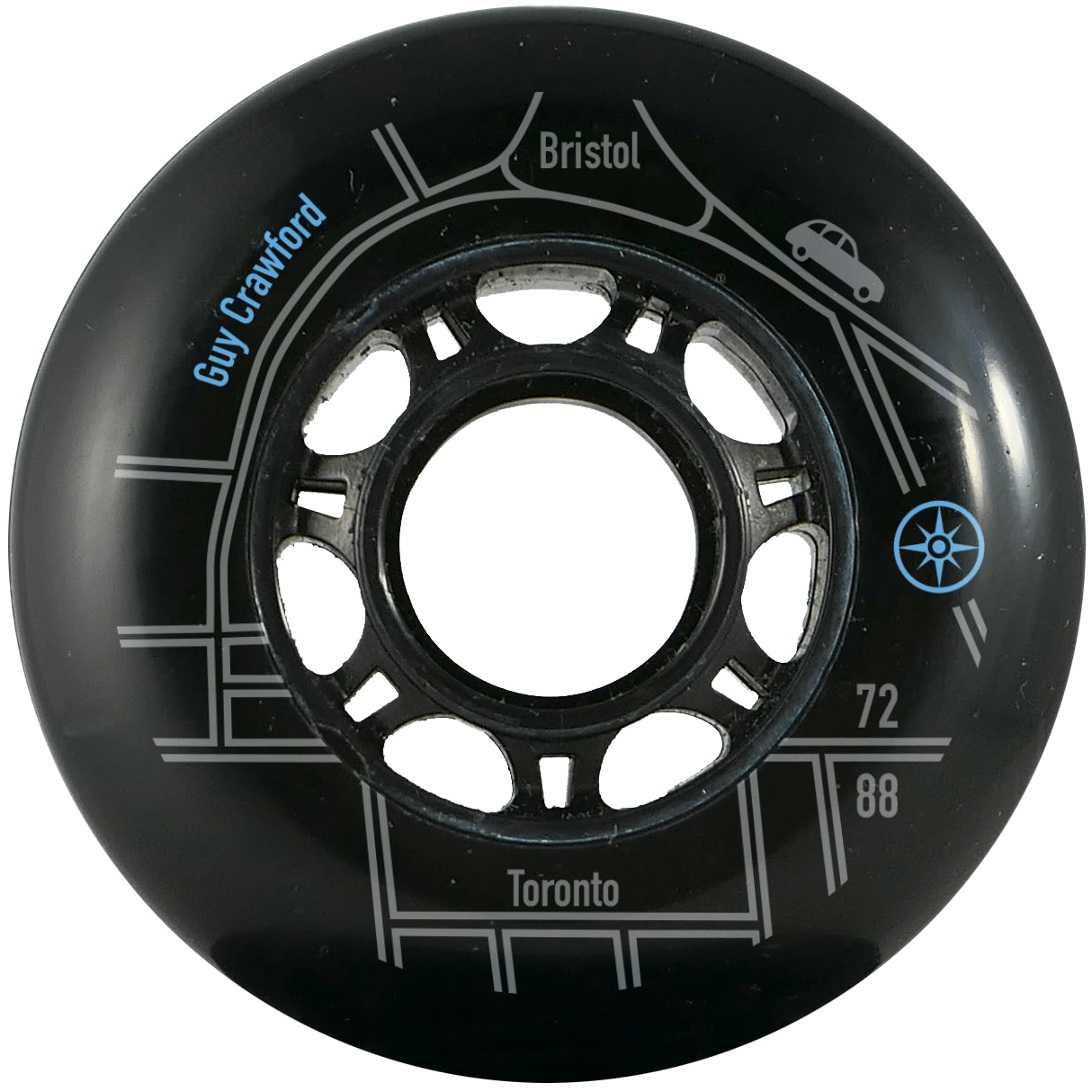 Compass Guy Crawford 72mm 88a Wheel