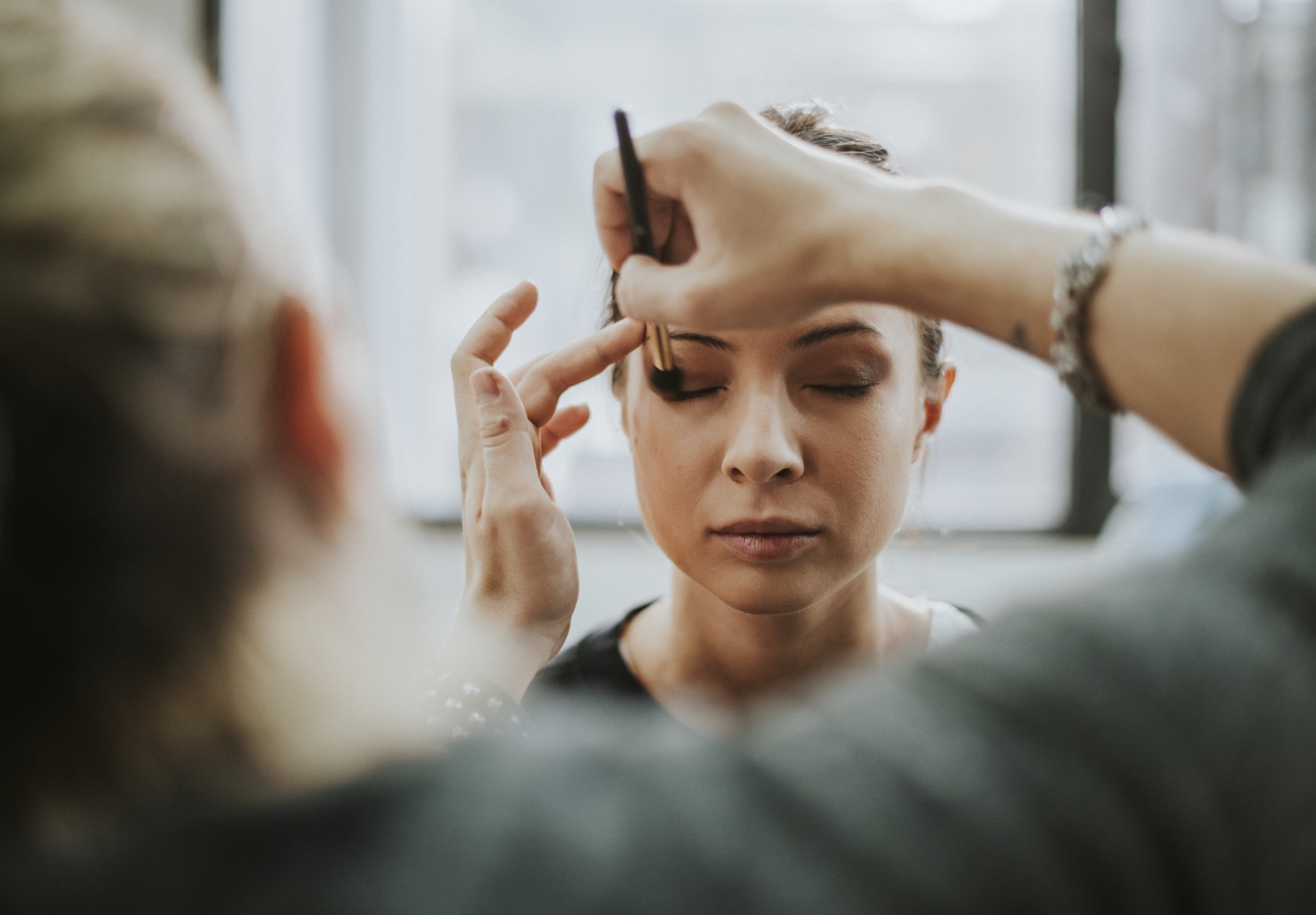 Makup Application - Makeup application is available for special events. Learn professional application techniques and tips from an expert to assist in your every day makeup routine.Application / $95Lesson / $145Bridal Party Application / $110False Eyelash Application / $35