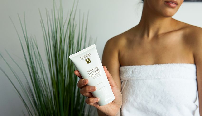 Stone Crop Body Treatment - Take your self-care to the next level with a total body experience that promotes health and hydration from head to toe. A combination of unique Eminence products exfoliate, contour, smooth and tone.$140