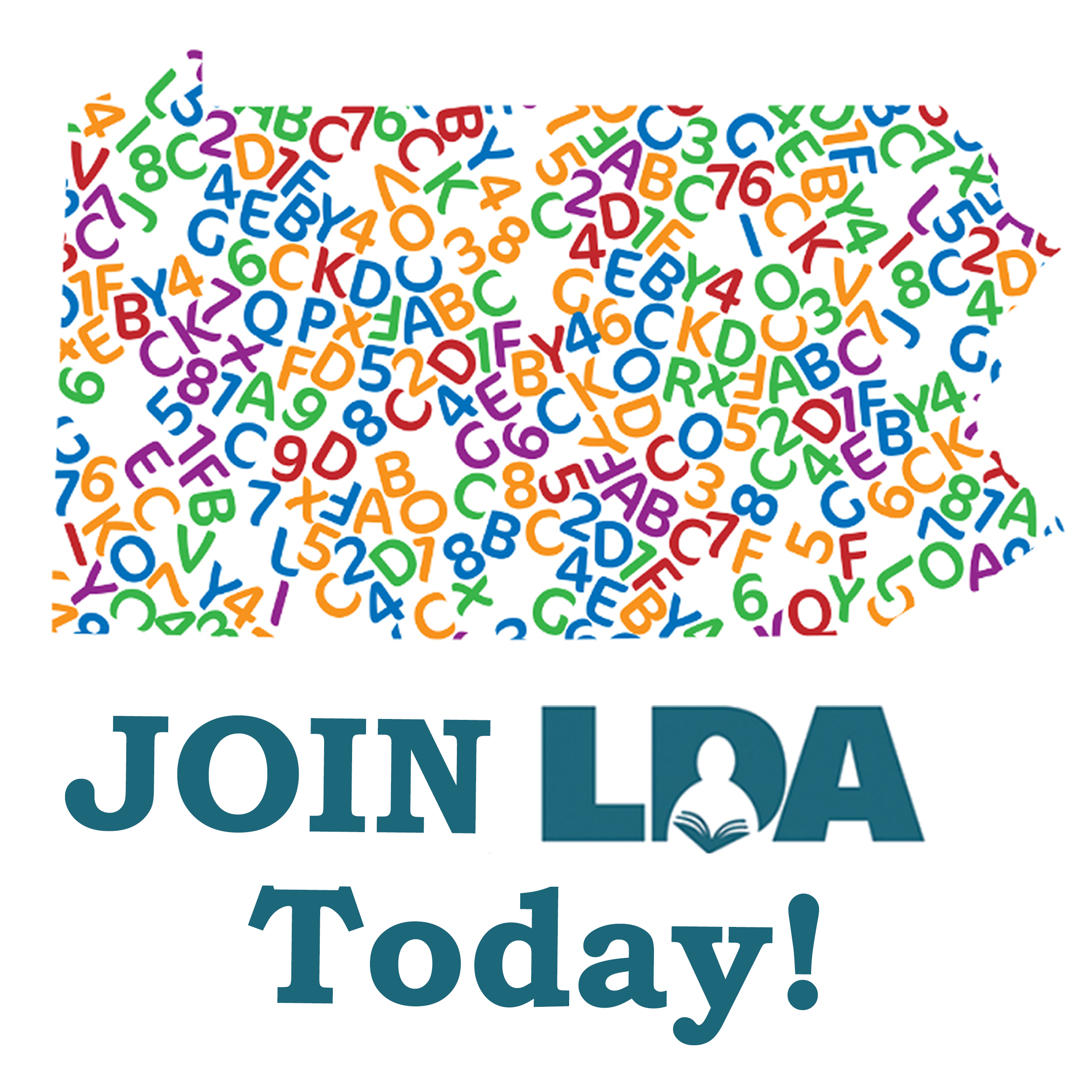 LET'S START SOMETHING NEW - JOIN LDA TODAY!Become a member of LDA of PA by registering with our national branch LDA America.