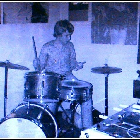 Rick's love for the drums goes way back!