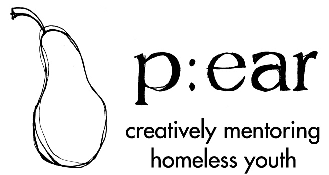 What is p:ear? - p:ear (pearmentor.org) is a non-profit based in Portland, OR.They build positive relationships with homeless and transitional youth through education, art and recreation to affirm personal worth and create more meaningful and healthier lives.In other words, they're awesome.We'll be raffling off prizes to raise money so p:ear can keep on keeping on. Have a prize to donate? Email us.