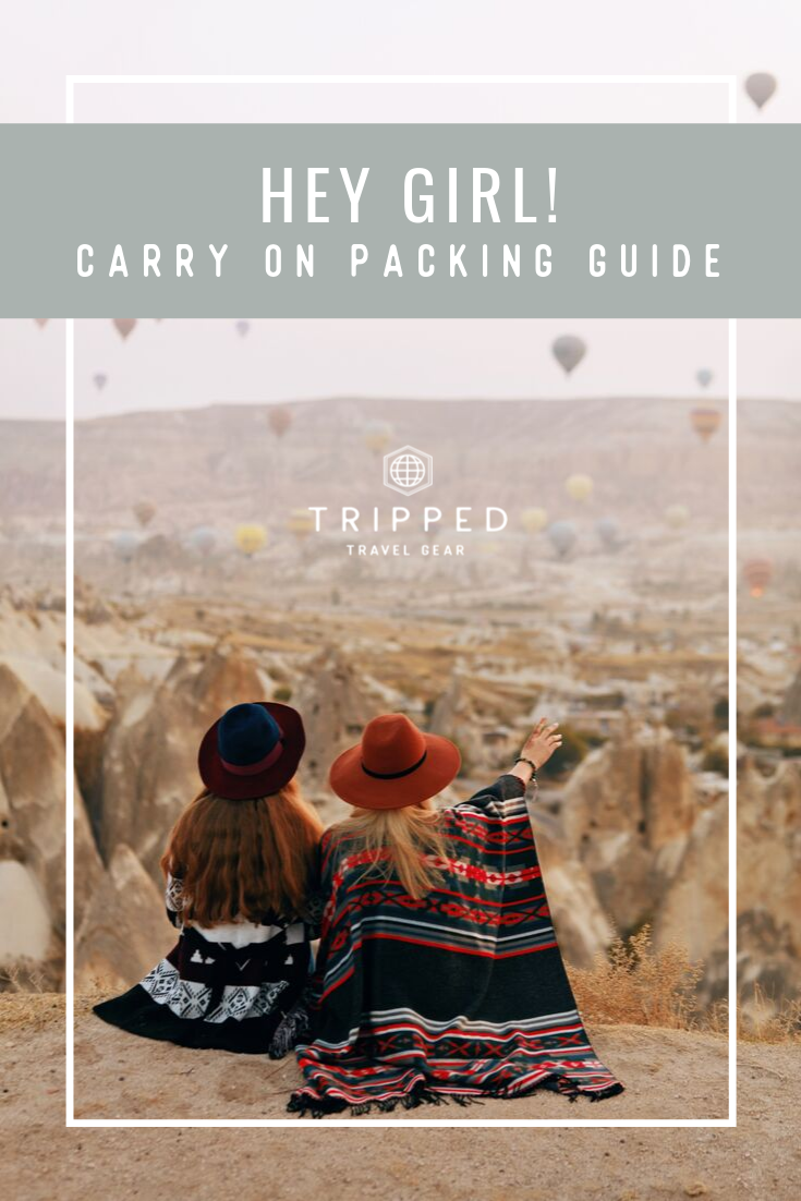 womens carry on packing list