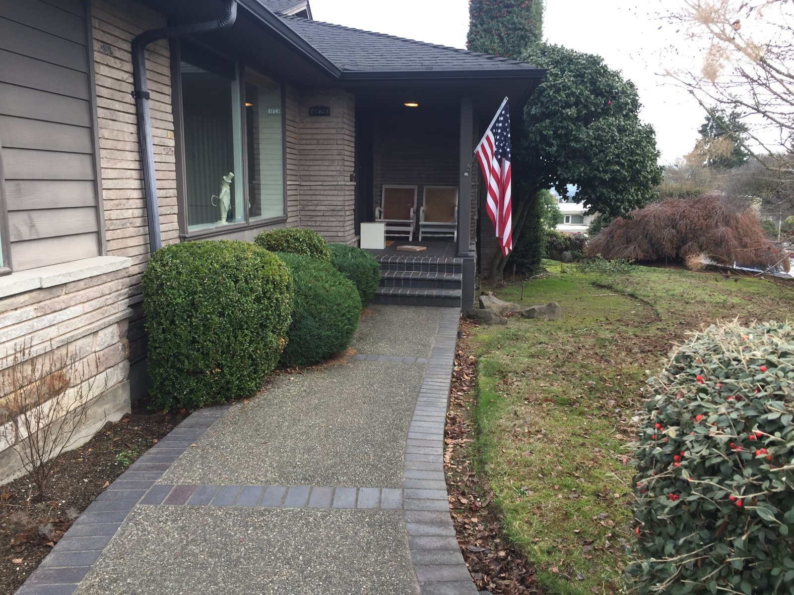 Front Yard 'Before'