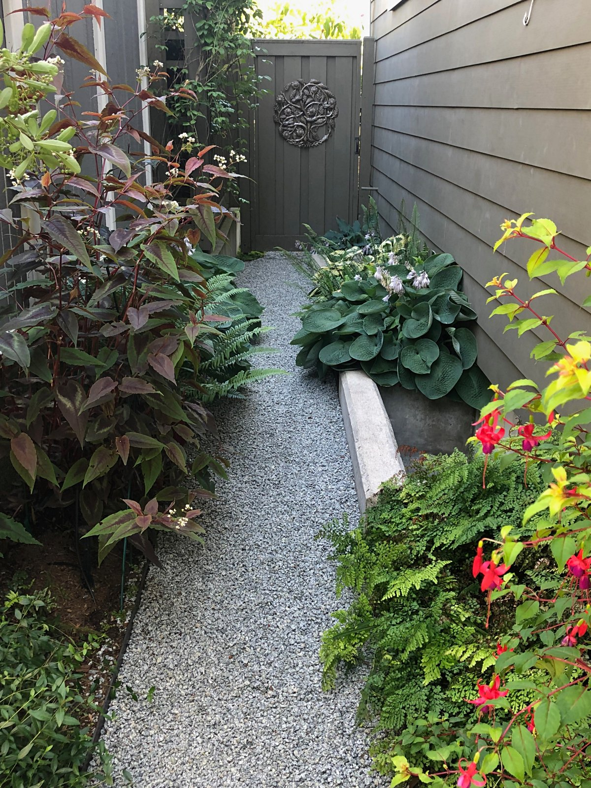 SIDE YARD PATH
