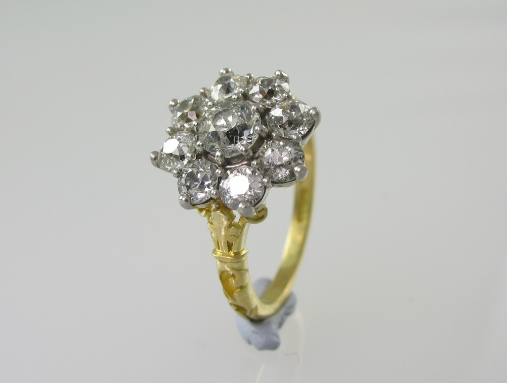 Vintage reproduction diamond ring Simon Wright