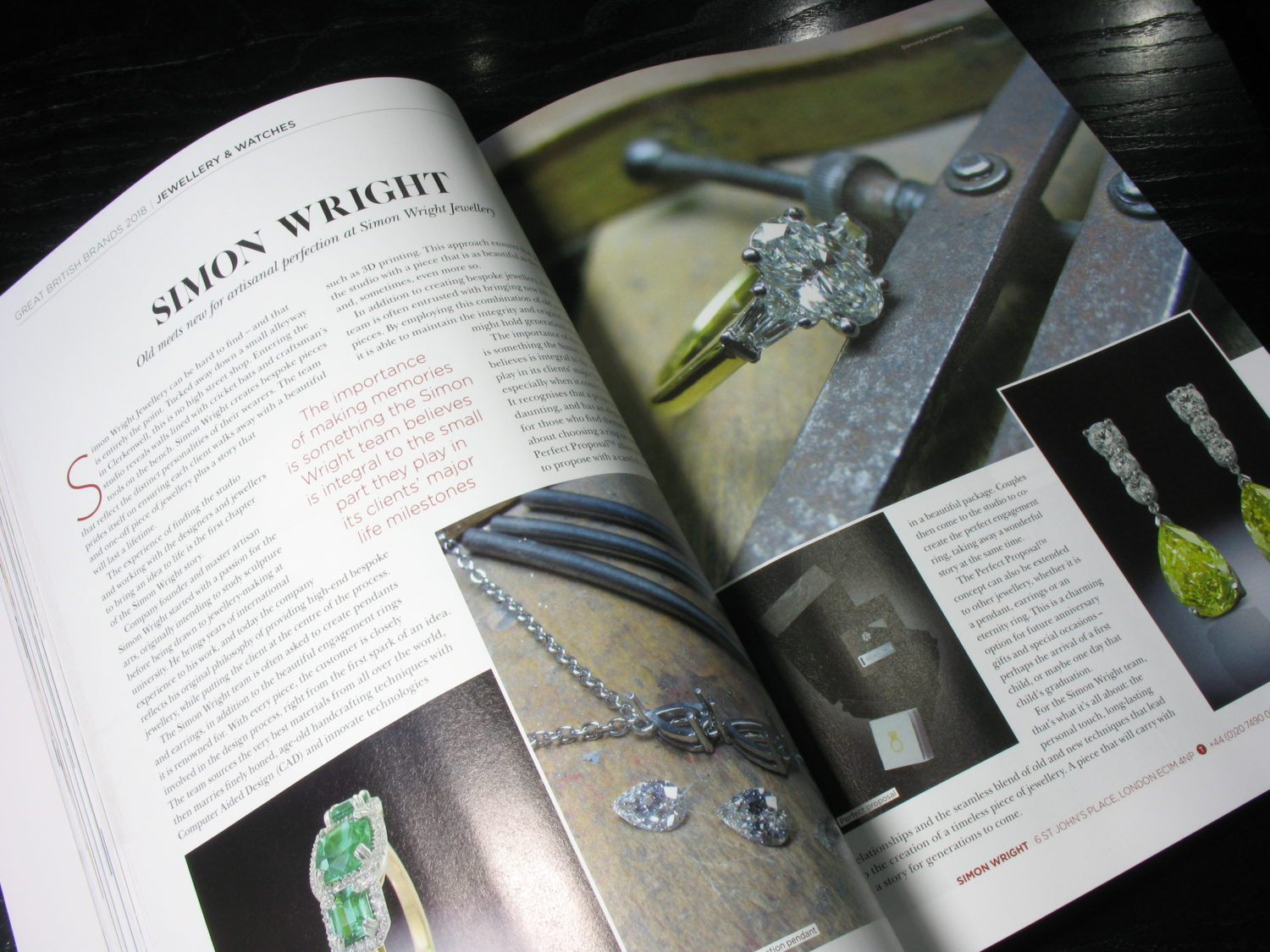 Simon Wright Jewellery Great British Brands