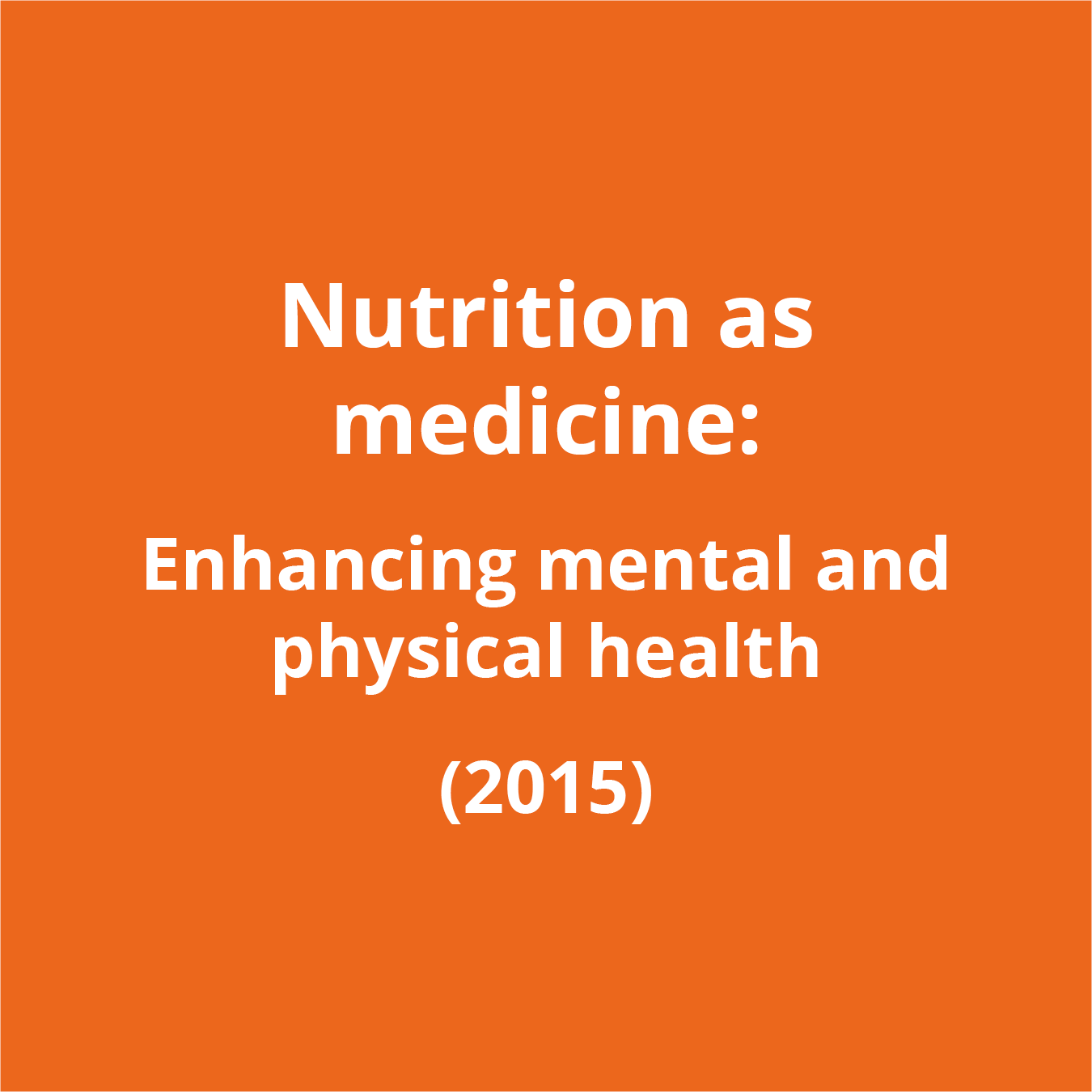 Brain and Nutrition and Other