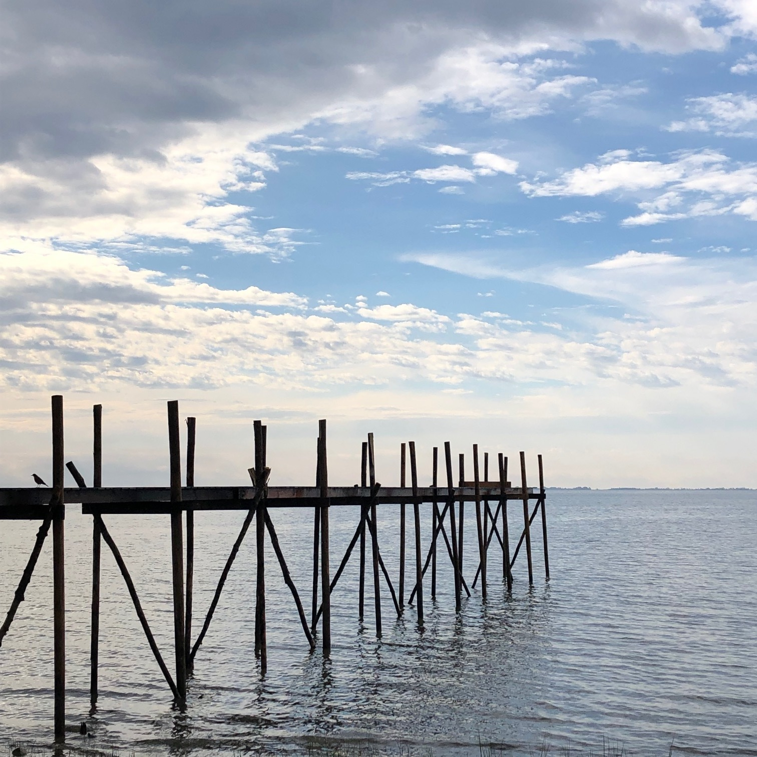The village of Dunnottar on lake Winnipeg is characterized by its stick dock Piers. Reassembled seasonally they are the perfect communal gathering place.