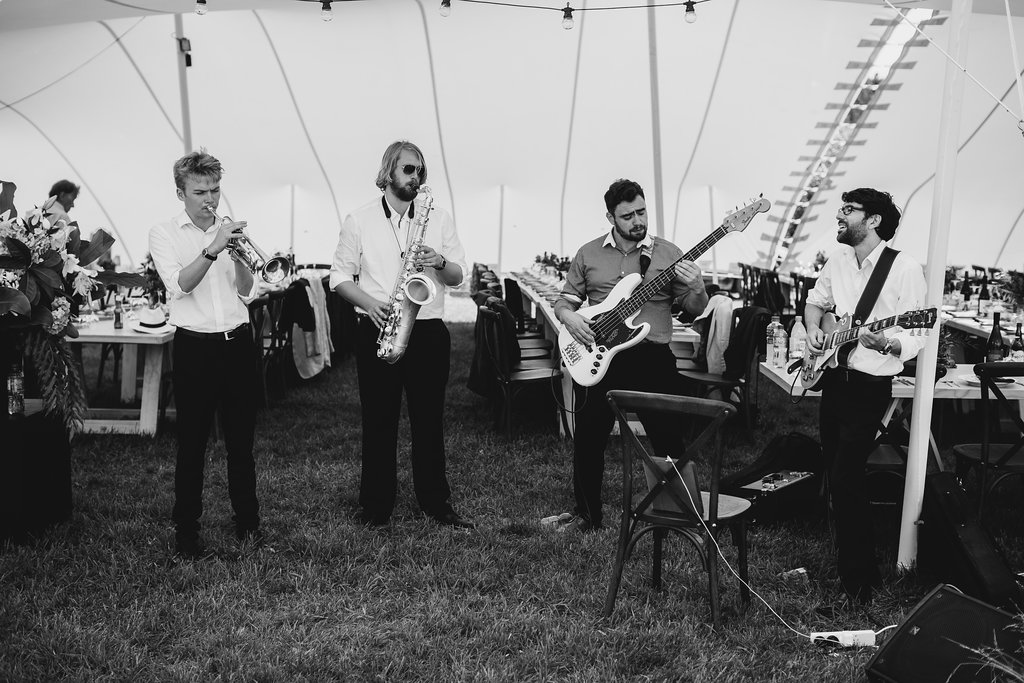 """During the canapés some of the group played some light Jazz which created the perfect atmosphere"" - January 2018"